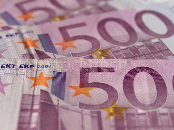 Euro Uwaga waluta europejski Unii Zdjęcia stock © claudiodivizia