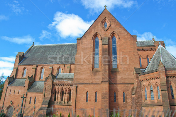 Barony Parish Glasgow Stock photo © claudiodivizia
