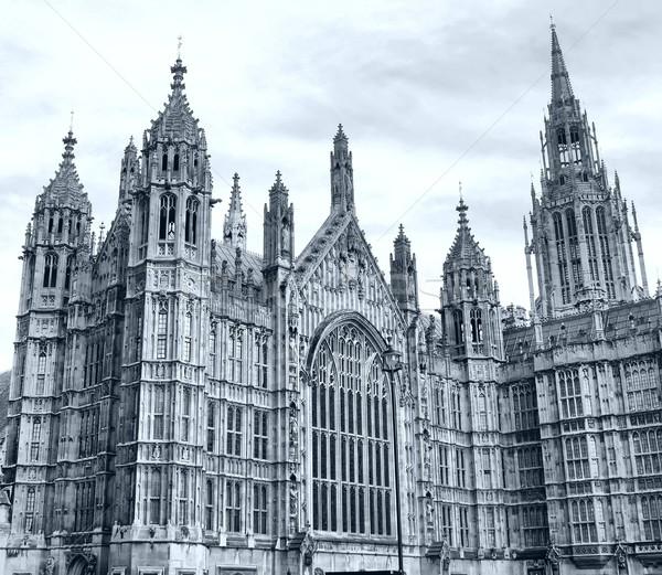 Westminster abbaye église Londres élevé dynamique Photo stock © claudiodivizia