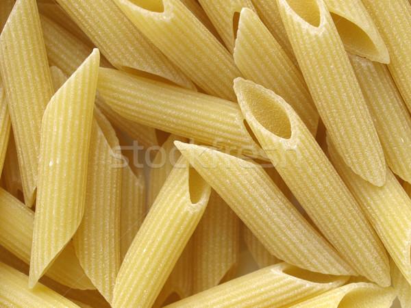 Makaróni olasz tészta hasznos étel cső Stock fotó © claudiodivizia