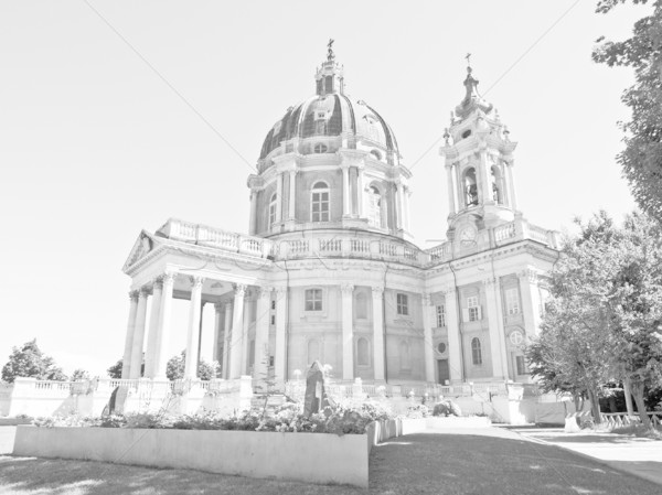バシリカ イタリア 古代 バロック 修道院 ストックフォト © claudiodivizia
