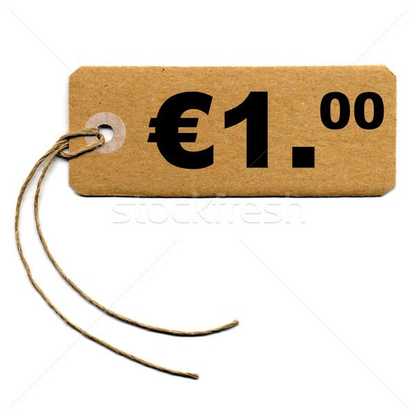 Tag label Stock photo © claudiodivizia