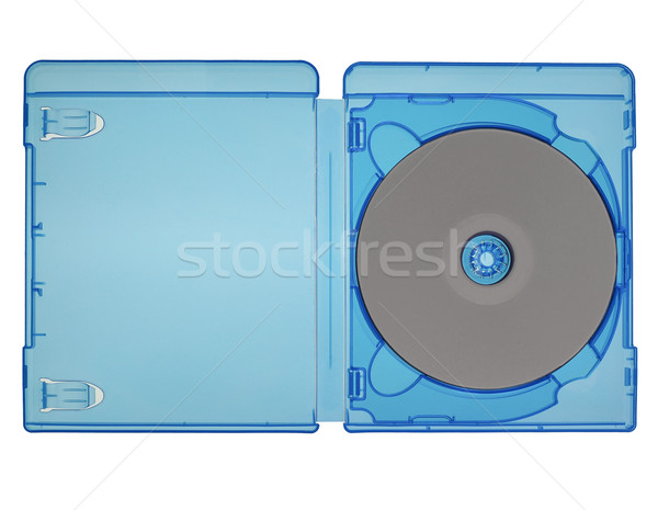 Bluray disc isolated Stock photo © claudiodivizia