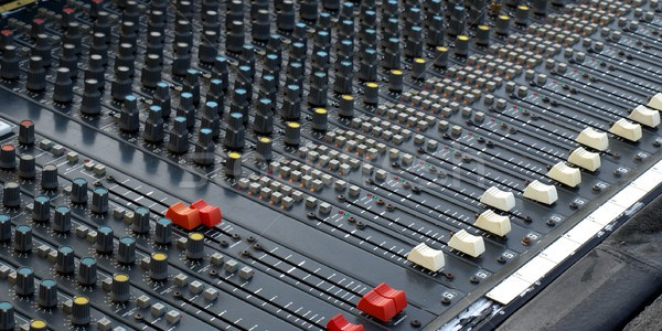 Soundboard Stock photo © claudiodivizia