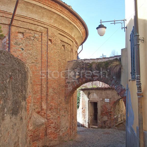 Rivoli old town, Italy Stock photo © claudiodivizia