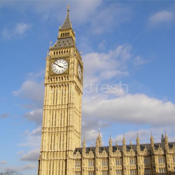 Big Ben Londres maisons parlement westminster palais Photo stock © claudiodivizia