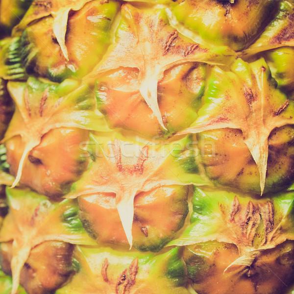 Retro look Pineapple picture Stock photo © claudiodivizia