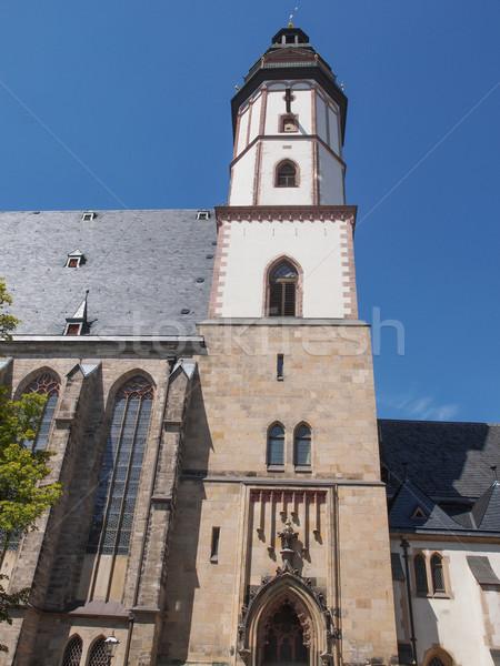 Thomaskirche Leipzig Stock photo © claudiodivizia