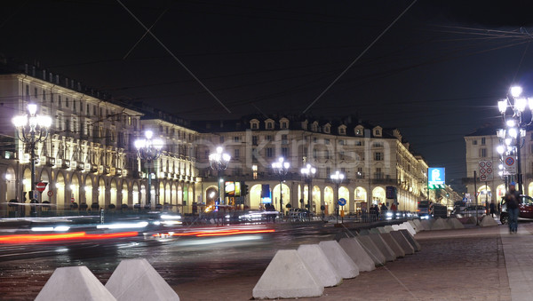 Piazza Vittorio, Turin Stock photo © claudiodivizia