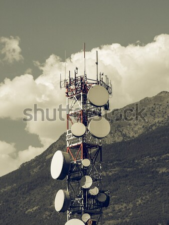 Communication tower Stock photo © claudiodivizia