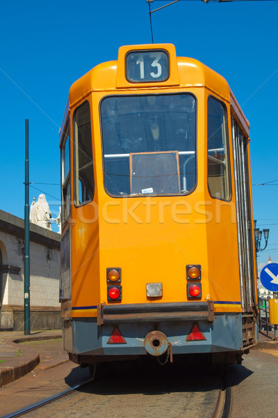 A tram Stock photo © claudiodivizia