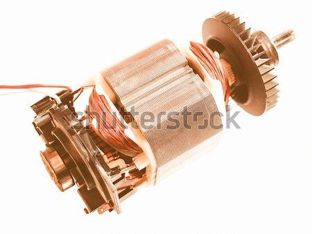 Electric engine Stock photo © claudiodivizia