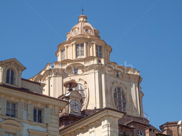 San Lorenzo church Turin Stock photo © claudiodivizia