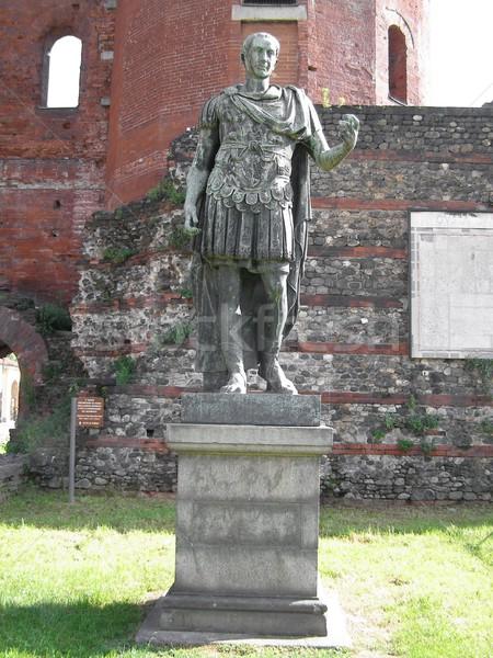 Roman statue Stock photo © claudiodivizia