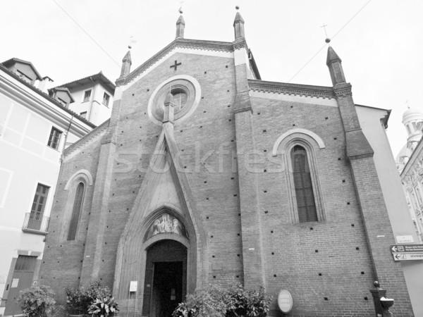 San Domenico Church, Turin Stock photo © claudiodivizia