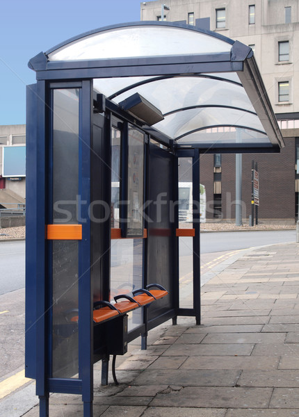 Bus stop Stock photo © claudiodivizia