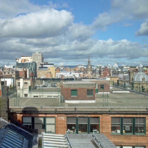 Glasgow città Scozia skyline panorama Foto d'archivio © claudiodivizia