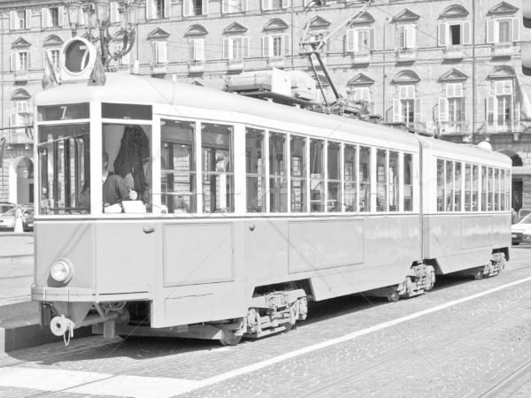 Edad tranvía vintage histórico Italia Foto stock © claudiodivizia