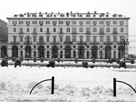 Milan Itália ver cidade edifício Foto stock © claudiodivizia