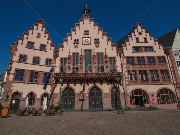Frankfurt city hall Stock photo © claudiodivizia