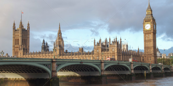 Westminster Bridge Stock photo © claudiodivizia