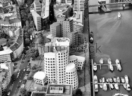 Kilátás kikötő Németország magas dinamikus terjedelem Stock fotó © claudiodivizia