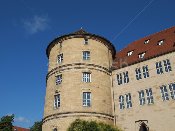 Altes Schloss (Old Castle), Stuttgart Stock photo © claudiodivizia