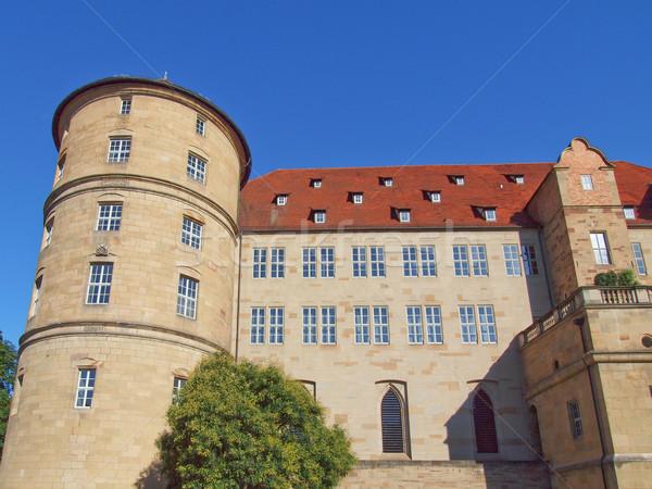 Altes Schloss (Old Castle) Stuttgart Stock photo © claudiodivizia