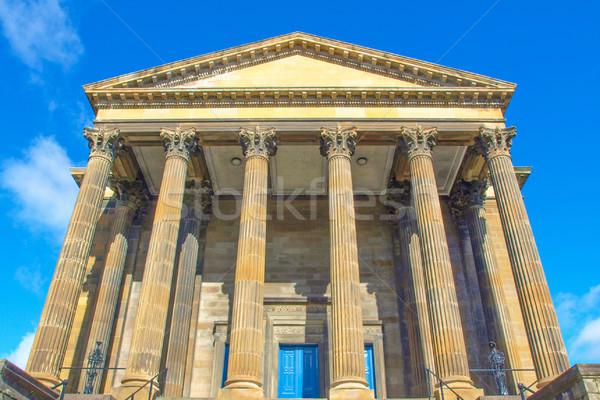 Wellington chiesa Glasgow ovest fine Scozia Foto d'archivio © claudiodivizia