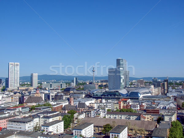 Frankfurt am Main Germany Stock photo © claudiodivizia