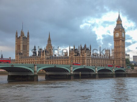 Westminster pont panorama maisons parlement Big Ben Photo stock © claudiodivizia