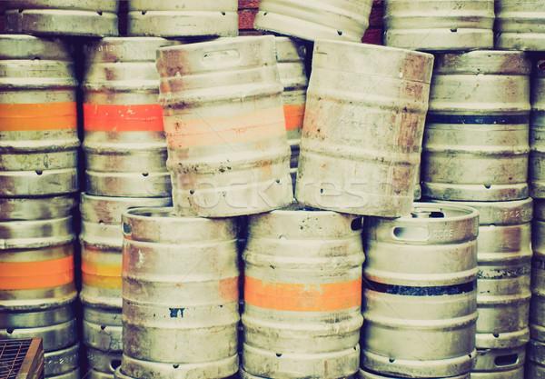 Stock photo: Retro look Beer
