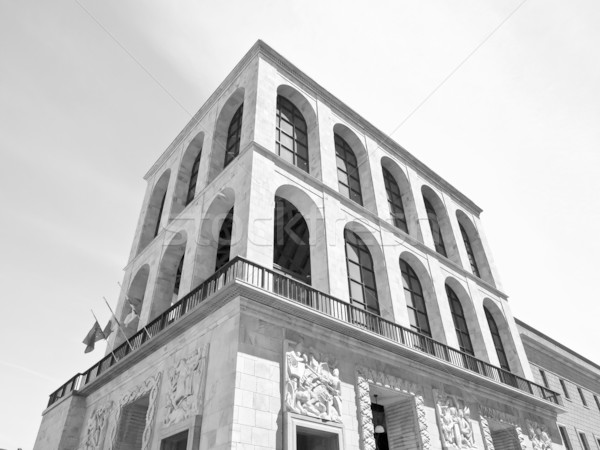 ミラノ イタリア アーキテクチャ 現代 町 イタリア語 ストックフォト © claudiodivizia