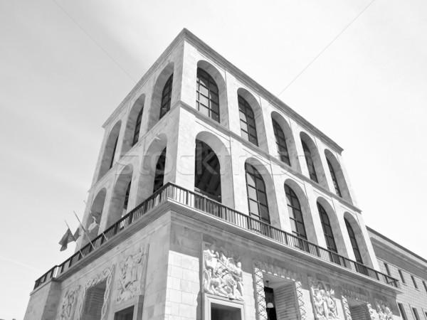 Milaan Italië architectuur moderne stad Italiaans Stockfoto © claudiodivizia