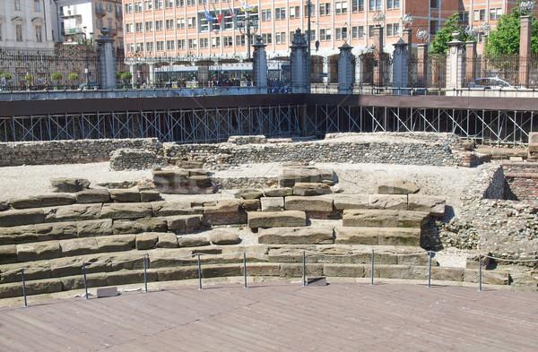 Roman Theatre, Turin Stock photo © claudiodivizia