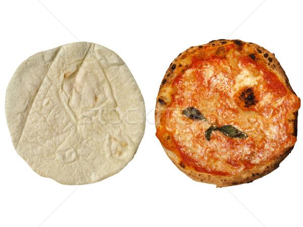Pizza Margherita Stock photo © claudiodivizia
