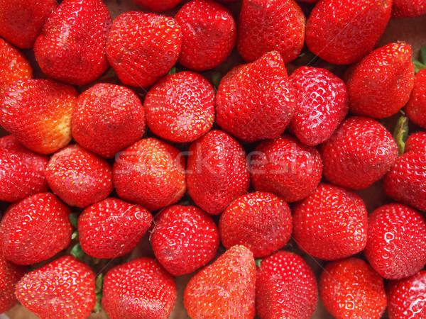 Strawberries fruits Stock photo © claudiodivizia