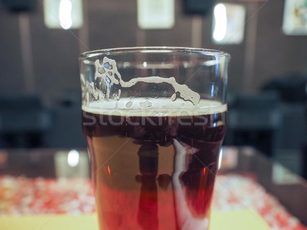 Cerveza inglesa cerveza pinta Inglés pub alcohol Foto stock © claudiodivizia