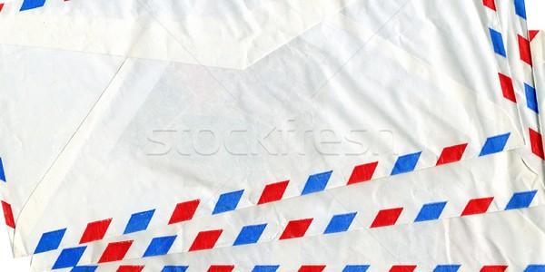 Airmail letter Stock photo © claudiodivizia
