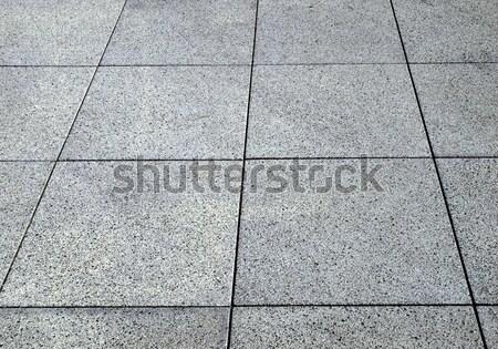 Konkretnych chodniku bruk przydatny budynku budowy Zdjęcia stock © claudiodivizia