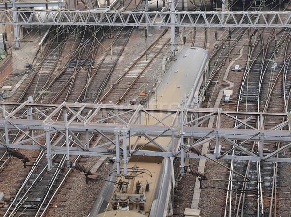 鉄道 列車 交通 旅行 地下鉄 ストックフォト © claudiodivizia