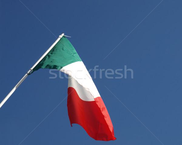 Italian flag Stock photo © claudiodivizia
