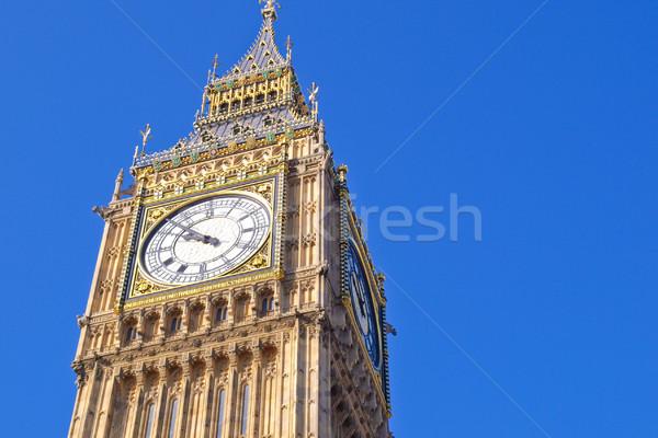 Big Ben London Stock photo © claudiodivizia