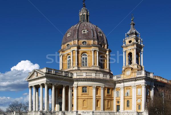 Basilica di Superga, Turin Stock photo © claudiodivizia