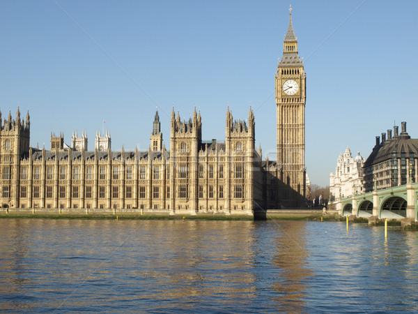 Houses of Parliament, London Stock photo © claudiodivizia