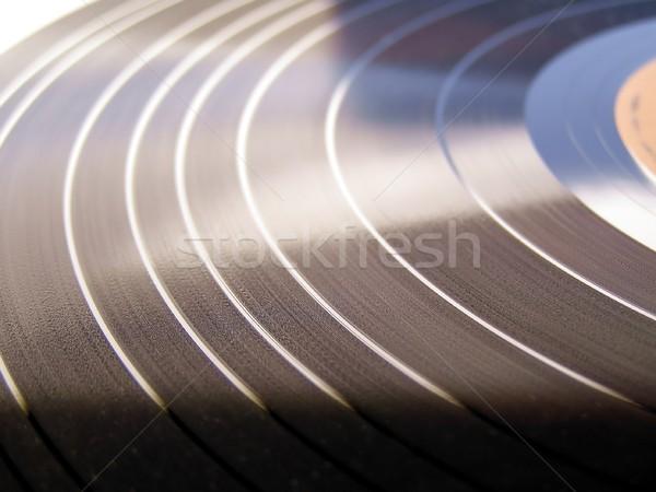Foto stock: Vinil · registro · música · tecnologia · retro · soar