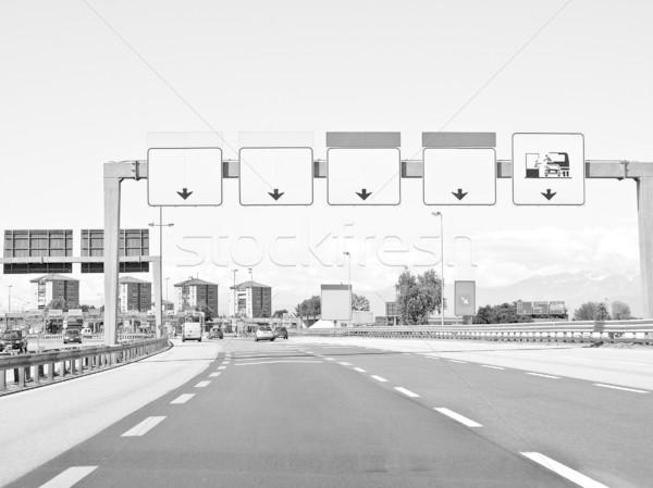 Motorway Stock photo © claudiodivizia