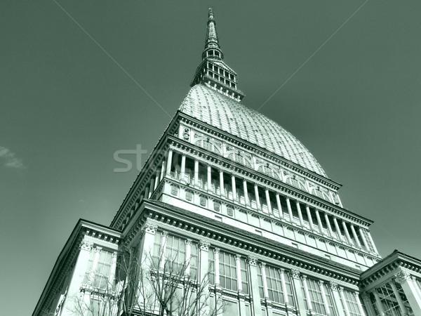 ほくろ トリノ イタリア 高い ダイナミック ストックフォト © claudiodivizia