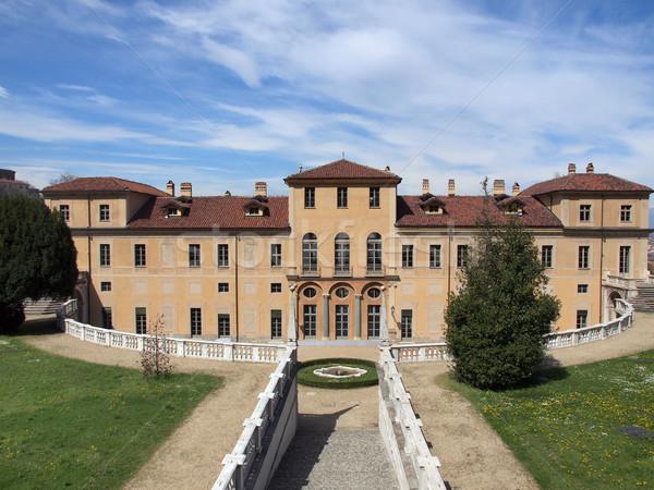 Villa İtalya bağbozumu eski kasaba Stok fotoğraf © claudiodivizia