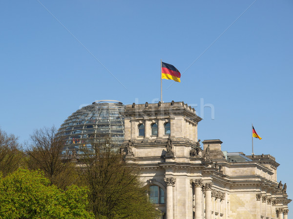 Reichstag, Berlin Stock photo © claudiodivizia